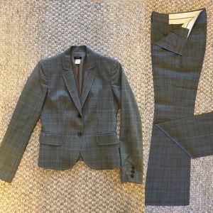JCrew Women's Plaid Suit